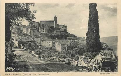 """/ CPA FRANCE 83 """"Solliès Ville, vue panoramique"""""""