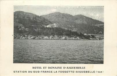 """/ CPA FRANCE 83 """"Hôtel et domaine d'Aiguebelle"""""""