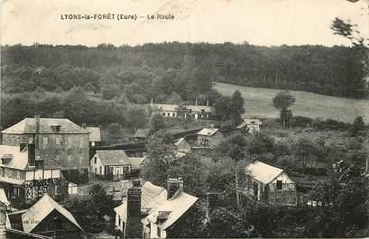 """CPA FRANCE 27 """"Lyons la Forêt, vue générale"""""""