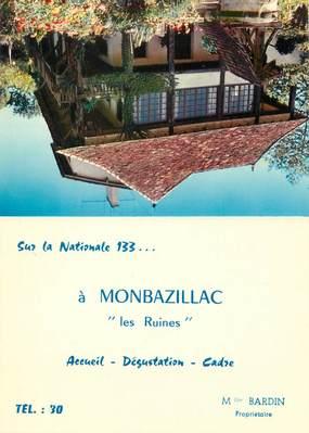 "/ CPSM FRANCE 24 ""Monbazillac, les ruines"""