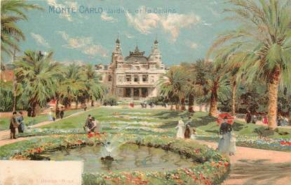 "CPA MONACO ""Monte Carlo, Jardins et le Casino"""