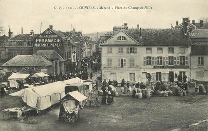"""CPA FRANCE 27 """"Louviers, Marché"""""""