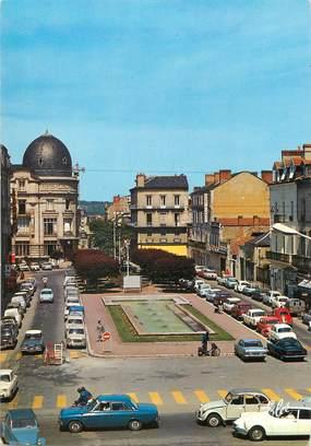 """/ CPSM FRANCE 24 """"Périgueux, les magnifiques fontaines face à la poste"""""""