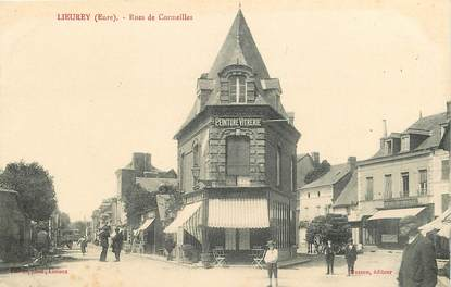 "CPA FRANCE 27 ""Lieurey, rue de Cormeilles"""