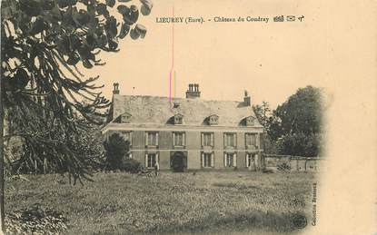 """CPA FRANCE 27 """"Lieurey, Chateau du Coudray"""""""