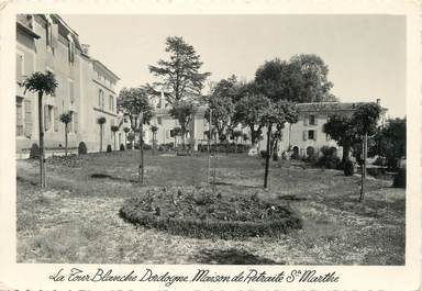 """/ CPSM FRANCE 24 """"Saint Marthe, la tour Blanche, maison de retraite"""""""