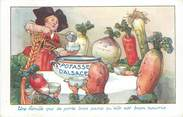 Theme  CPA PUBLICITE   /  La Potasse d'Alsace