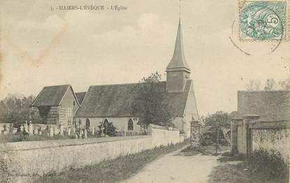 "CPA FRANCE 27 ""Illiers l'Evêque, L'Eglise"""