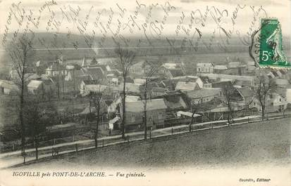 """CPA FRANCE 27 """"Igoville près Pont de l'Arche"""""""