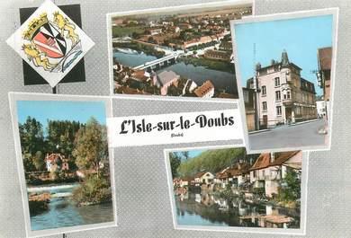 """/ CPSM FRANCE 25 """"L'Isle sur le Doubs """""""