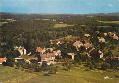 """/ CPSM FRANCE 25 """"Montferrand le Château, vue aérienne, le haut du village"""""""
