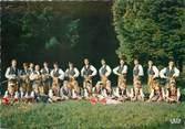 """25 Doub / CPSM FRANCE 25  """" Sochaux Montbéliard, Polonia"""" /  GROUPE FOLKLORIQUE"""