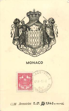 CARTE MAXIMUM MONACO
