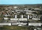 """25 Doub / CPSM FRANCE 25  """" Sochaux Montbéliard, le lycée Cuvier et les usines Peugeot"""""""