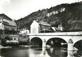 """25 Doub / CPSM FRANCE 25 """"Saint Hippolyte, le pont sur le Doubs"""""""