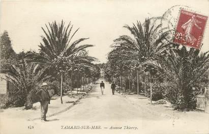 """/ CPA FRANCE 83 """"Tamaris sur Mer, av Thierry"""""""