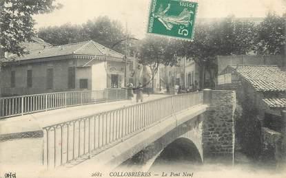 """/ CPA FRANCE 83 """"Collobrières, le pont neuf"""""""