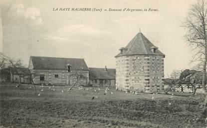 """CPA FRANCE 27 """"La Haye Malherbe, domaine d'Argeronne, la ferme"""""""