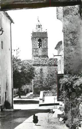 """/ CPSM FRANCE 83 """"Mons, le clocher"""""""