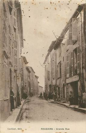 """/ CPA FRANCE 83 """"Rougiers, grande rue"""""""