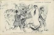 "13 Bouch Du Rhone / CPA FRANCE 13 ""Tartarin de Tarascon, retour triomphal de Tartarin"""