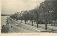 """78 Yveline / CPA FRANCE 78 """"Mantes, promenade du quai des Cordeliers"""""""