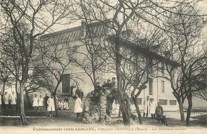 """CPA FRANCE 55 """"Etablissements Louis Leblanc, Nançois Tronville"""""""