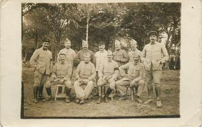 CARTE PHOTO  MILITAIRE Soldats 135eme régiment