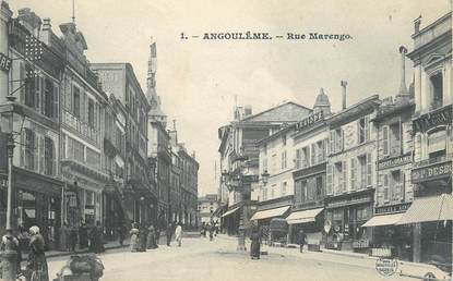 "/ CPA FRANCE 16 ""Angoulême, place Marengo """