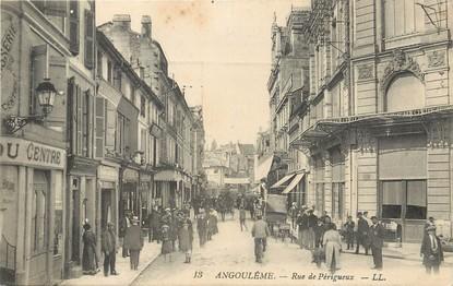 Cpa france 16 angoul me rue de p rigueux 16 for Plan angouleme 16