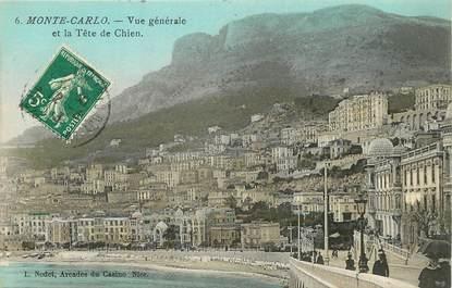 """CPA MONACO """"Monte Carlo, La Tête de Chien"""""""