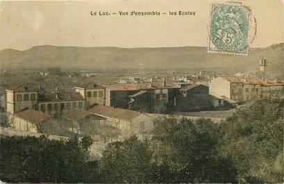 "CPA FRANCE 83 ""Le Luc"" / CARTE TOILÉE"