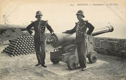 """CPA MONACO """"Carabiniers"""""""