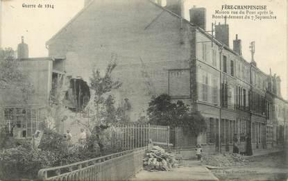 """/ CPA FRANCE 51 """"Fère Champenoise, maison rue de pont"""""""
