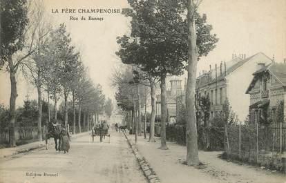 """/ CPA FRANCE 51 """"Fère Champenoise, rue de Bannes """""""