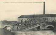 """51 Marne / CPA FRANCE 51 """"Fismes, pont sur le Vesle détruit par le Génie Français"""""""