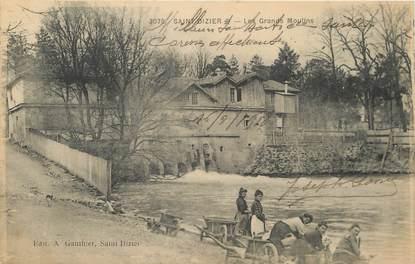 """/ CPA FRANCE 52 """"Saint Dizier, les grands moulins"""" / LAVEUSES"""