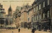 """25 Doub CPA FRANCE 25 """"Besançon, cathédrale et maison où vit Victor Hugo"""" / CARTE TOILÉE"""