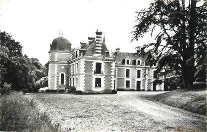 """/ CPSM FRANCE 53 """"Nuille sur Vicoin, château de Marthebise"""""""