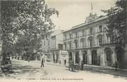 """46 Lot / CPA FRANCE 46 """"Cahors, l'hôtel de ville et le bld Gambetta"""""""