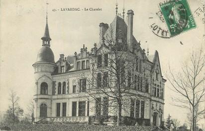 "/ CPA FRANCE 47 ""Lavardac, le Chatelet"""