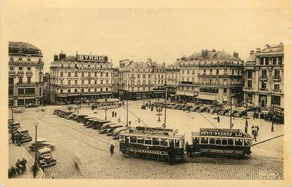 "/ CPA FRANCE 49 ""Angers, place du ralliement"" / TRAMWAY"