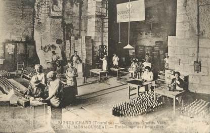 """/ CPA FRANCE 41 """"Montrichard, caves des grands vins"""""""