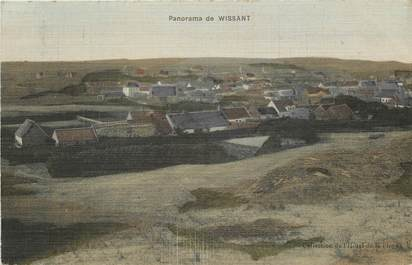 """CPA FRANCE 62 """"Wissant, panorama"""" / CARTE TOILÉE"""