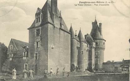 """/ CPA FRANCE 41 """"Fougères sur Bièvre, le vieux château, vue d'ensemble"""""""