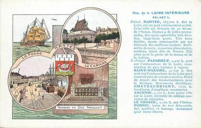 """/ CPA FRANCE 44 """"Département de la Loire Inférieure"""""""