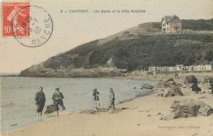 "CPA FRANCE 50 ""Carteret"" / CARTE TOILÉE"