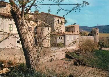 """/ CPSM FRANCE 26 """"Beaufort sur Gervanne, les remparts et les Tourelles"""""""
