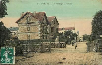 "CPA FRANCE 95 ""Ermont"" / CARTE TOILÉE"