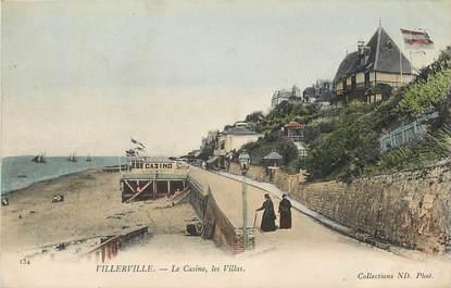 """CPA FRANCE 14 """"Villerville, le casino et les villas"""""""